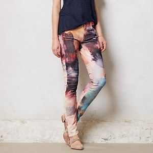 MOTHER jeans The Looker Watercolor Cords sz 30